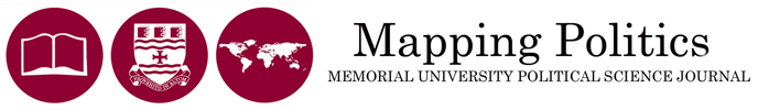 Mapping Politics: Memorial University Political Science Journal
